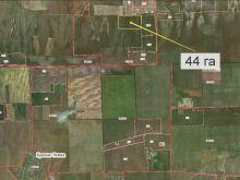 Продается земельный участок 44 га, 5.5 км от с. Кировское