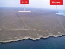 Продается земельный участок 31 га (2 по 15,5 га) недалеко от с. Марьино