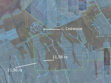 Продаются два участка в Крыму, Черноморский район, 27,54 гектара.