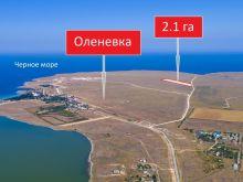 Продается земельный участок 2 га в с. Оленевка