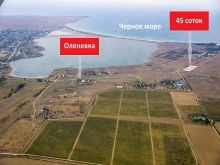 Продам участок 45 соток (3 по 15 соток) в с. Оленевка