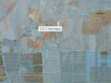 Продается земельный ПАЙ 22.1 гектара, 4.7 км от с. Низовка