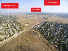 Продается земельный 10 соток, с. Суворовское, госакт под ИЖС.