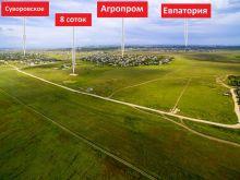 Земельный участок 8 соток напротив с. Суворовское